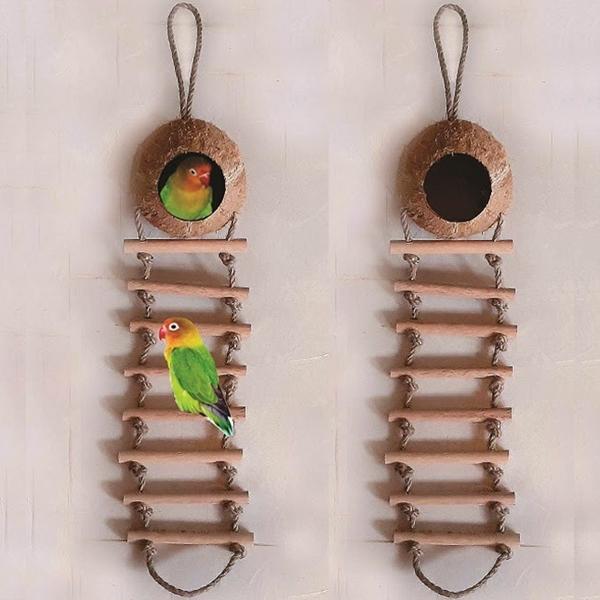 Tổ chim gáo 8 thang gỗ